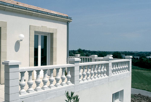 exemple balustrade terrasse