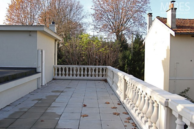 visualiser balustrade terrasse