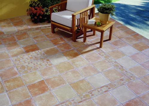 photo carrelage exterieur terrasse