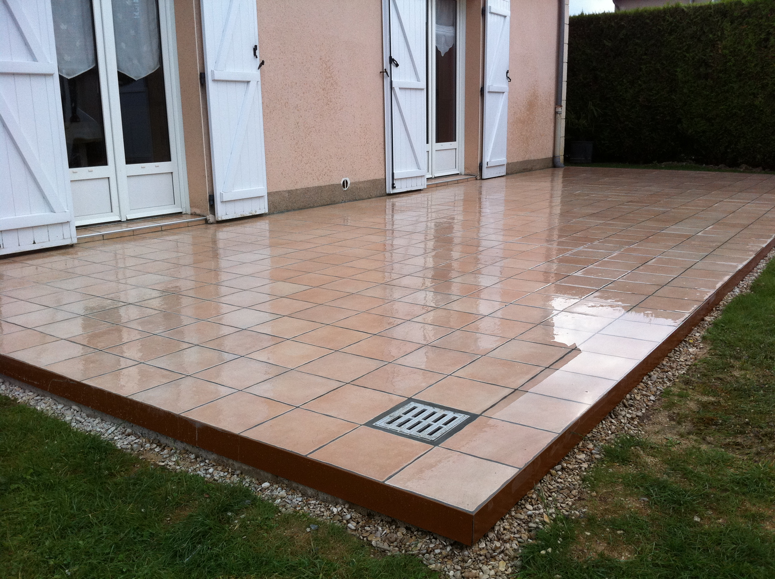 carrelage de terrasse On carrelage de terrasse