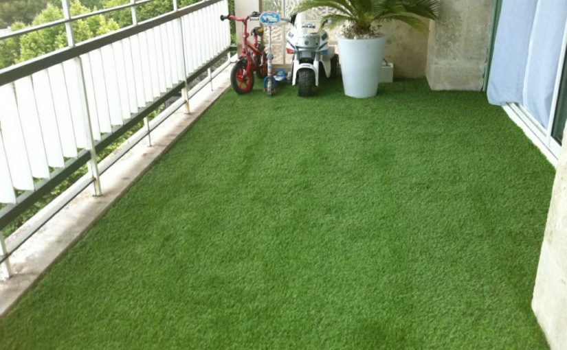 Gazon synthetique pour terrasse