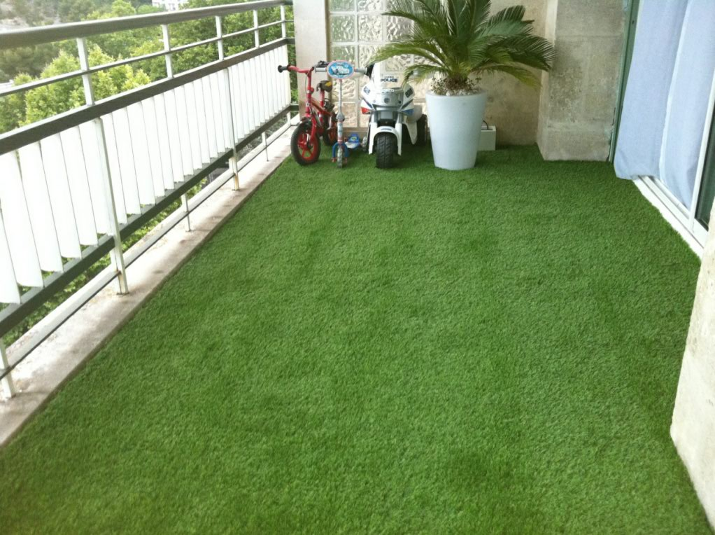gazon synthetique pour terrasse ma terrasse