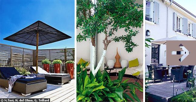exemple idee amenagement terrasse