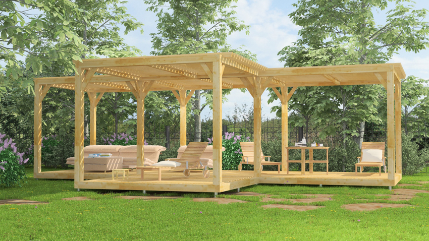 pergola terrasse ma terrasse. Black Bedroom Furniture Sets. Home Design Ideas
