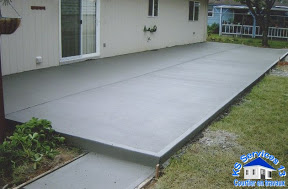 Prix terrasse beton ma terrasse for Terrasse suspendue beton photo