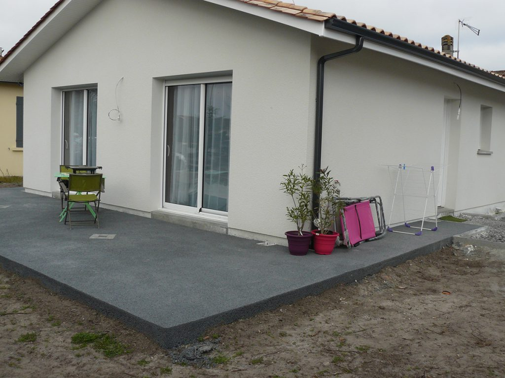 exemple revetement terrasse
