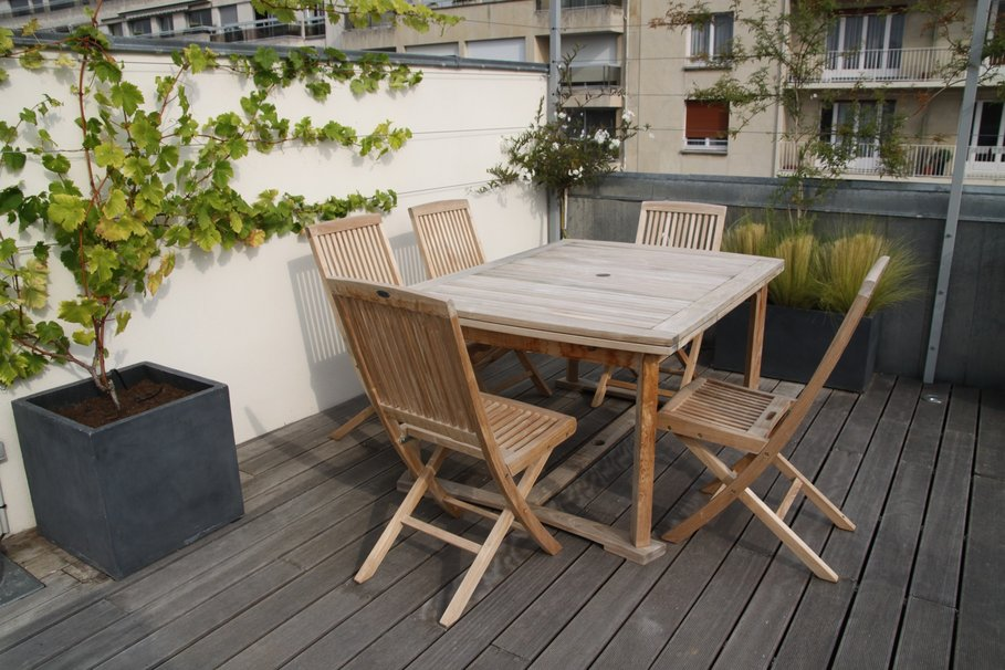 exemple table terrasse