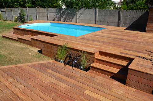 illustration terrasse bois exotique – source  terrassenaturecom