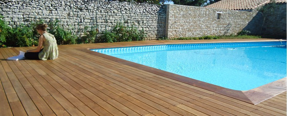 visualiser terrasse bois piscine