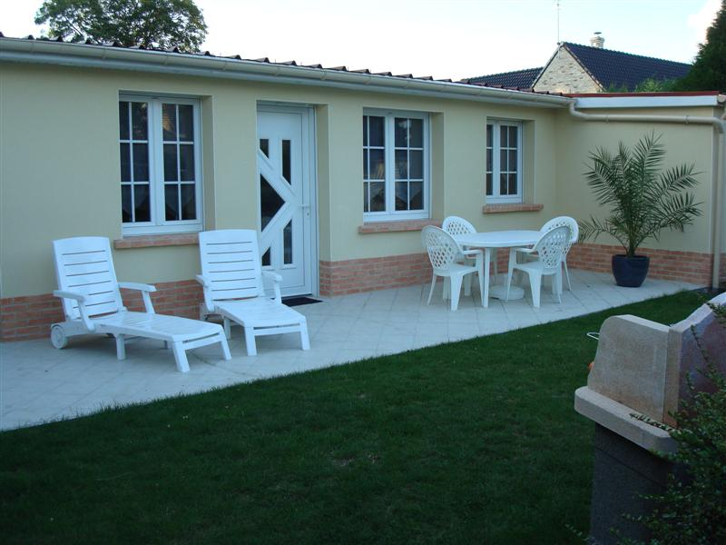 photo terrasse de jardin