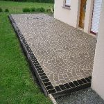 illustration terrasse en beton