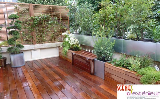Ma terrasse page 6 s lection d inspirations pour votre for Conception de jardin terrasse