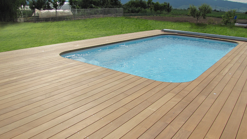 Exemple de terrasse en bois good deco with exemple de for Piscine bois nice