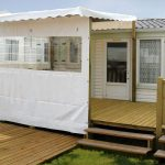 illustration terrasse pour mobil home
