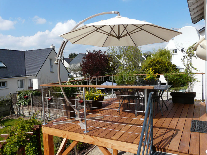 photo terrasse suspendue