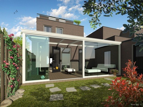 illustration toit de terrasse